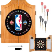 Trademark Games NBA Dart Cabinet