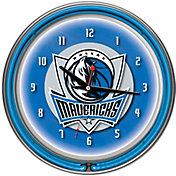 Trademark Games Dallas Mavericks 14'' Neon Clock
