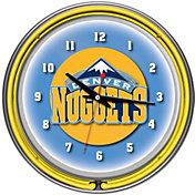 Trademark Games Denver Nuggets 14'' Neon Clock