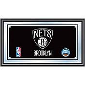 Trademark Games Brooklyn Nets Framed Mirror