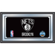 Trademark Games Brooklyn Nets Framed Mirror