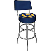 Trademark Games Indiana Pacers Padded Swivel Bar Stool with Back