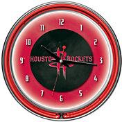 Trademark Games Houston Rockets 14'' Neon Clock