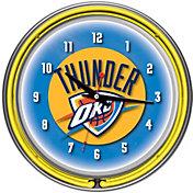 Trademark Games Oklahoma City Thunder 14'' Neon Clock