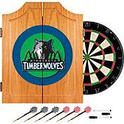 Trademark Games Minnesota Timberwolves Dart Cabinet