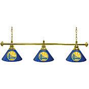 Trademark Games Golden State Warriors 60'' 3-Shade Billiard Lamp
