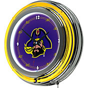 Trademark Games East Carolina Pirates 14'' Neon Clock