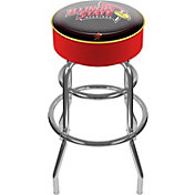 Trademark Games Illinois State Redbirds Padded Bar Stool