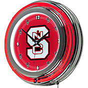 Trademark Games NC State Wolfpack 14'' Neon Clock