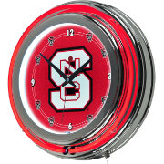 Trademark Games NC State Wolfpack 14'' Neon Clock