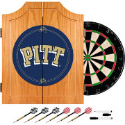 Trademark Games Pitt Panthers Dart Cabinet