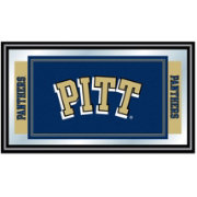 Trademark Games Pittsburgh Panthers Framed Team Logo Mirror