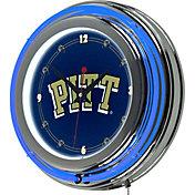 Trademark Games Pittsburgh Panthers 14'' Neon Clock