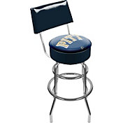 Trademark Games Pittsburgh Panthers Padded Swivel Bar Stool with Back