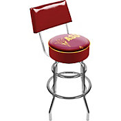 Trademark Games Arizona State Sun Devils Padded Swivel Bar Stool with Back