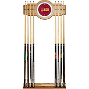 Trademark Games Arizona State Sun Devils 2-Piece Wood and Mirror Wall Cue Rack