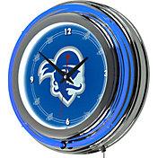 Trademark Games Seton Hall Pirates 14'' Neon Clock
