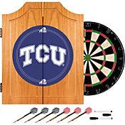 Trademark Games TCU Horned Frogs Dart Cabinet