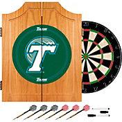Trademark Games Tulane Green Wave Dart Cabinet
