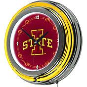 Trademark Games Iowa State Cyclones 14'' Neon Clock