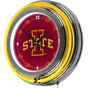 Trademark Games Iowa State Cyclones 14'' Neon Clock