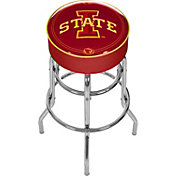 Trademark Games Iowa State Cyclones Padded Bar Stool