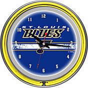 Trademark Games St. Louis Blues 14'' Neon Clock