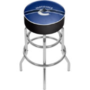 Trademark Games Vancouver Canucks Padded Bar Stool