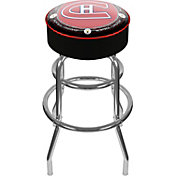 Trademark Games Montreal Canadiens Padded Bar Stool