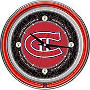 Trademark Games Montreal Canadiens 14'' Neon Clock