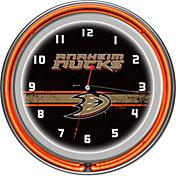 Trademark Games Anaheim Ducks 14'' Neon Clock