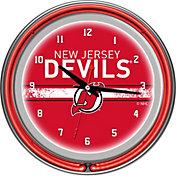 Trademark Games New Jersey Devils 14'' Neon Clock