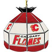 Trademark Games Calgary Flames 16'' Tiffany Lamp