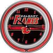 Trademark Games Calgary Flames 14'' Neon Clock