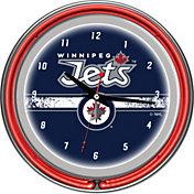 Trademark Games Winnipeg Jets 14'' Neon Clock