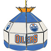 Trademark Games Edmonton Oilers 16'' Tiffany Lamp