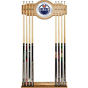 Trademark Games Edmonton Oilers Cue Rack
