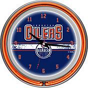 Trademark Games Edmonton Oilers 14'' Neon Clock