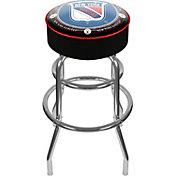 Trademark Games New York Rangers Padded Bar Stool