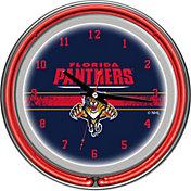 Trademark Games Florida Panthers 14'' Neon Clock