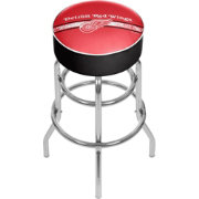 Trademark Games Detroit Red Wings Padded Bar Stool