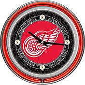Trademark Games Detroit Red Wings 14'' Neon Clock