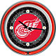 Trademark Games Detroit Red Wings 14'' Neon Clock