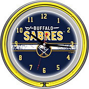 Trademark Games Buffalo Sabres 14'' Neon Clock