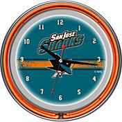 Trademark Games San Jose Sharks 14'' Neon Clock