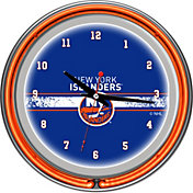 Trademark Games New York Islanders 14'' Neon Clock