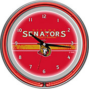 Trademark Games Ottawa Senators 14'' Neon Clock