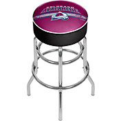 Trademark Games Colorado Avalanche Padded Bar Stool