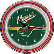 Trademark Games Minnesota Wild 14'' Neon Clock