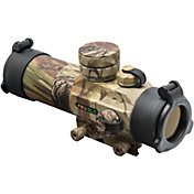 TRUGLO Gobble Stopper 30mm Dual Color Rifle Scope - Realtree APG